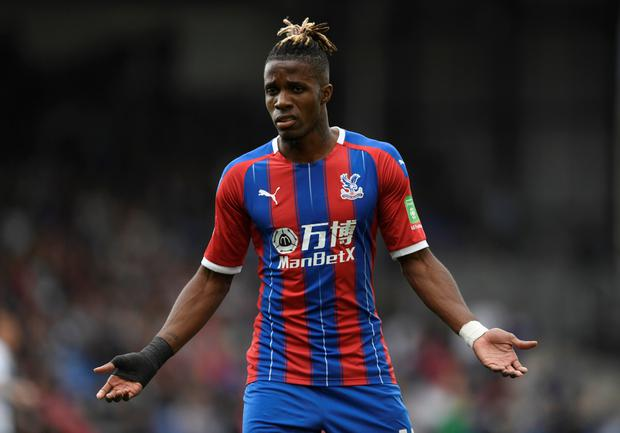 BACKING: Zaha. Pic: Reuters
