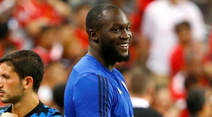 ISOLATED: Romelu Lukaku. Photo: REUTERS/Feline Lim/File Photo