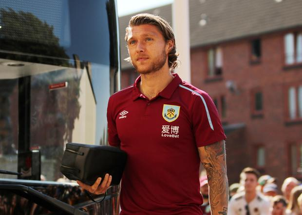 READY TO GO: Jeff Hendrick. Pic: Reuters