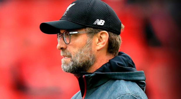 Big top: Jurgen Klopp says the hype surrounding tomorrow's game is like a circus