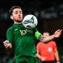 Robbie Brady controls the ball. Photo: Sportsfile