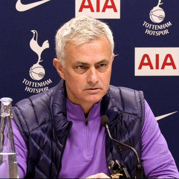 Jose Mourinho has talked about his predecessor