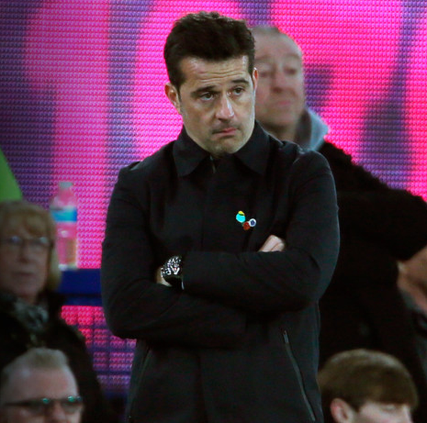 Marco Silva's tenure at Everton looks to be over