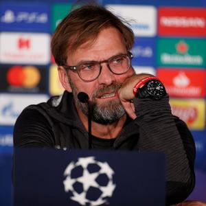 100 PER CENT: Jurgen Klopp is prepared for the fixture pile-up. Pic: Reuters