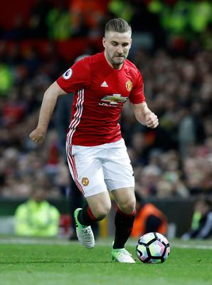 Manchester United's Luke Shaw. Photo: Martin Rickett/PA