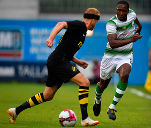 Inside knowledge: Dan Carr used to play in Sweden before joining Shamrock Rovers