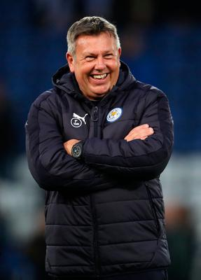 Leicester City's manager Craig Shakespeare