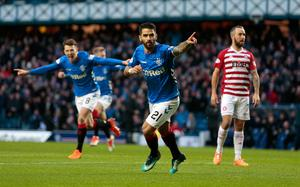 ON TOP: Daniel Candeias. Pic: PA