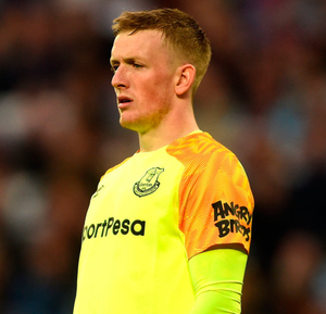 Jordan Pickford was involved in a disturbance
