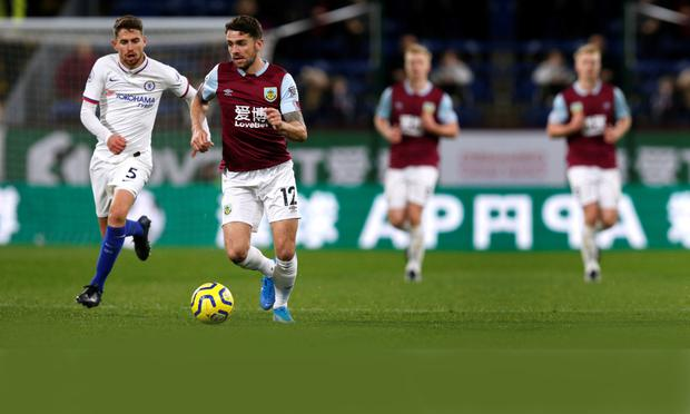 FITS THE BILL: Mick McCarthy would love Robbie Brady (r) to be fully fit for the crunch tie against the Danes. Pic: Reuters