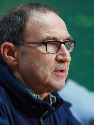 Martin O'Neill now wants to stay in his role as Ireland manager after reportedly turning down the chance to manage Stoke City