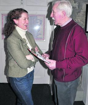 Norma Maher and Denis O'Mahony.
