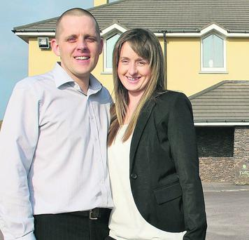 Pat and Noreen O'Flaherty who are opening a new restaurant and bar in Ceann Sibeál this weekend.