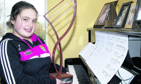 Caitríona Fitzmaurice, Tarbert - who was named as the Kerry School of Music Student of the Year recently. Photo by John Reidy