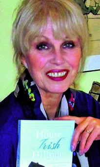 Joanna Lumley gets the gra for West Kerry.