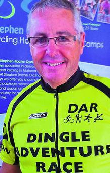 n Stephen Roche backing the Dingle Adventure Race.