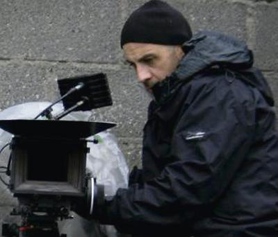 Kilcummin's Michael Hayes on the set of his short film 'Toy Soliders'.