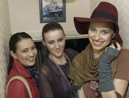 Eileen Sweeney, Siobhan Heffernan and Ola Michniewicz are pictured in oufits from The Taelane Store at the Fashion Show held last Wednesday by the the Listowel Food Fair. Photo by Ann McNamee