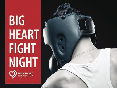 The Irish Heart Foundation's 'Big Heart Fight Night', supported by The Kerryman, takes place on November 15 at the INEC.