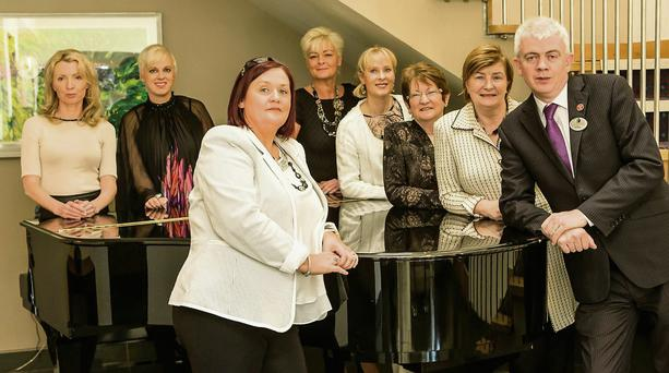 The launch of the annual Ladies' Luncheon & Fashion Afternoon in Ballyroe Heights Hotel.