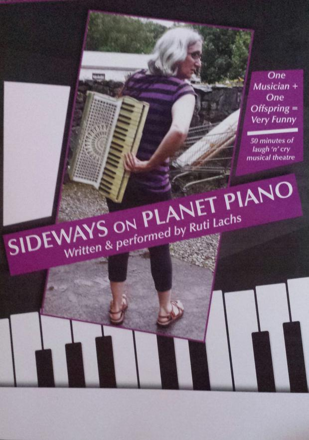 'Sideways on Planet Piano' will be showing in the Tech Amergin Centre in Waterville on Saturday, May 19 at 8pm