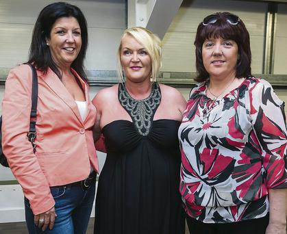 Josie O'Dowd, Castlemaine, contestant in the BTS fitness Nations weight loss challenge with family Martina Boylan and Dorothy Boylan