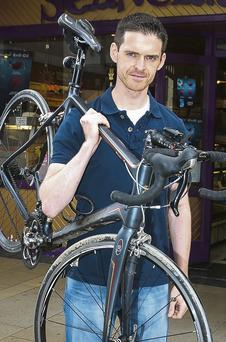 Tom Foley will take part in the Home To Rome charity cycle in aid of Kerry Hospice next Summer.