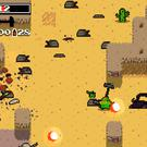 A scene from the game 'Nuclear Throne'