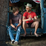 Blake Jenner and Glenn Powell in Everybody Wants Some