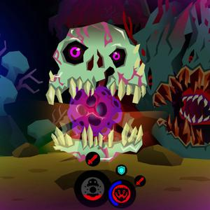 Severed looks beautiful. Neon accents and high contrast colours totally saturate this game, which is nice because the action exploration is rather mundane