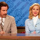 Will Farrell and Christina Applegate in Anchorman: The Legend of Ron Burgundy