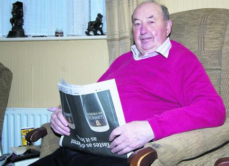 Transplant recipient and donor card advocate, Jackie Healy relaxing at home in Ballyduff on Sunday evening. Photo by John Reidy