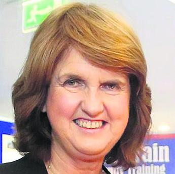 Joan Burton TD, Minister for Social Protection. Photo: Patrick Browne