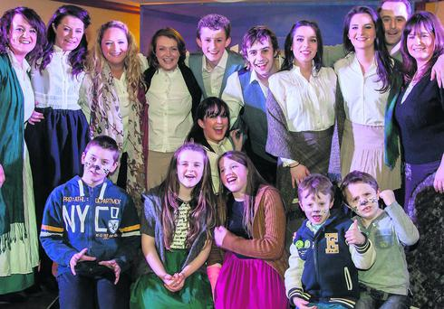 The Teach Beag team who are finalists in The Kerryman/Tralee Musical Society Tops Of The Town Final this Saturday night in the Meadowlands Hotel.