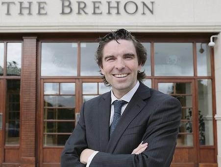 Gary Curran in his role as manager of The Brehon hotel in Killarney.