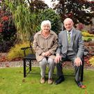 Mary and Terry O'Connor, Currans, Farranfore, who celebrated their 50th wedding anniversary at the Ballygarry Hotel last week