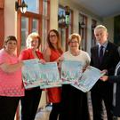 Pictured at the launch of the Recovery Haven Christmas Lunch & Pampering Day were: Tina Cunninghan, Phil Stack, Christine Boyle, Maureen O'Brien and Eileen Comerford, all from Recovery Haven. Also in picture is Mark Sullivan, Manager, Fels Point Hotel, Tralee