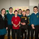 Attending the Mercy Mounthawk Sec School Open day Saturday were: Aoife Grimes, Darragh O'Connor, Joey Nagle, Ben Kavanagh, Aisling Williams, Chris Keane and Jack Linnane