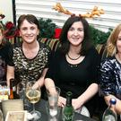 Staff from Kerry County Council enjoying their Christmas party at the Brogue Inn on Friday night. (LtoR) Mary Healy, Anne Marie Lynch, Ann Rogers, and Angela McAllen
