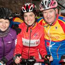 Helen Barrett,Sinead Leahy and Jack Lacey who took part in the Jimmy Duffy Annual Cycle from Blennerville to Castleisland