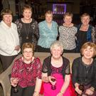 Ladies from Limerick Kerry Border who celebrated the Women's Christmas in Ballygarry House Hotel & Spa, Tralee. Pictured are: Margaret Brosnan, Batty Curtin, Kathy Lenihan, Margaret Sheehan, Margaret O'Connell, Norma Gleeson, Mary McCarthy, Geraldine Lenihan and Eileen Gleeson