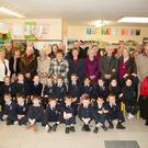 Children of Ardfert NS on Thursday met their Grandparents on Grandparents Day in Ardfert NS