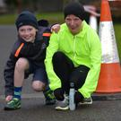 Pictured enjoying the Operation Transformation in Tralee Town were Patrick Stack and Caroline Harrington from Castlegregory. Photo by: Domnick Walsh