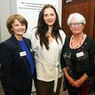 Pictured at the Kerry Women Writers Network - presents 'Fearless and Imaginative'. Women and Writing responses to the Rising, at the Rose Hotel on Saturday. Left Fiona Brennan, Knocknagree, Caitriona O'Sullivan, Tralee, Lily Tangney, Tralee,and Elaine Kinsella, Listowel. Photo: John Cleary