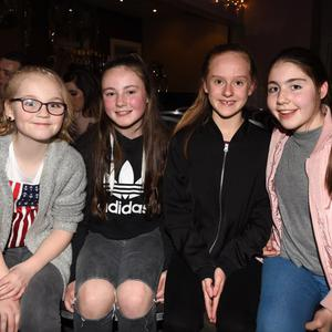 Molly Herlihy, Caoimhe Guerin, Roisin Brosnan and Katelyn O'Leary at the