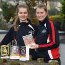 Christmas cards in aid of the Kerry/Cork health link bus. Amy O'Mahony and Katie Nagle from Tralee.The Kerry / Cork health link bus service or the Kerry Cancer Support Group started in 2010 with a 14 seater minibus and as demand quickly grew so did this vital bus service