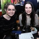 Supporting the Fleadh Cheoil Chiarrai Table Quiz at the Brogue Inn on Friday night, left, Cailín O'Shea, Castlemaine, Cliona Daly, Firies, and Jane O'Shea, Keel. Photo: John Cleary.
