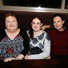 The Healy family, from Banna, with friend who took part in the Recovery Haven Tralee fundraising quiz in Kirby's Brogue Inn, Tralee on Thursday evening. L-r: Jennifer Healy, Claire Ali, Caroline Bulman and John Healy
