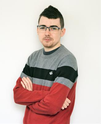 Kerryman reporter Tadhg Evans and his 'Where's Wally' jumper