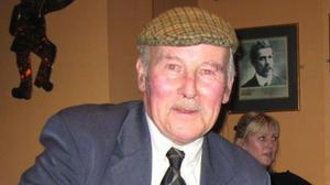 Noel Lucey, who played centre half back in Kerry's victorious All-Ireland encounter against Roscommon in 1962.